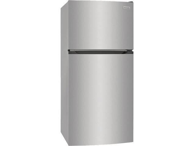 Frigidaire FFHT1425VV 13.9 Cu. Ft. Top Freezer Refrigerator - Brushed Steel photo