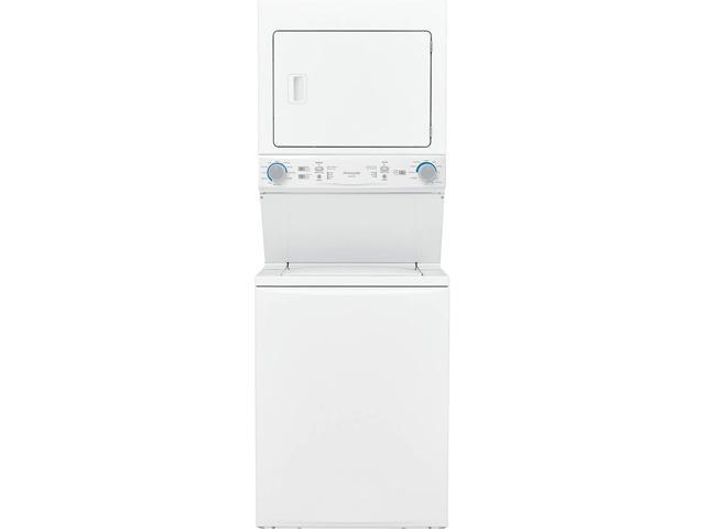 Frigidaire FLCG7522AW Gas Washer/Dryer Laundry Center - 3.9 Cu. Ft Washer and 5.5 Cu. Ft. Dryer - White photo