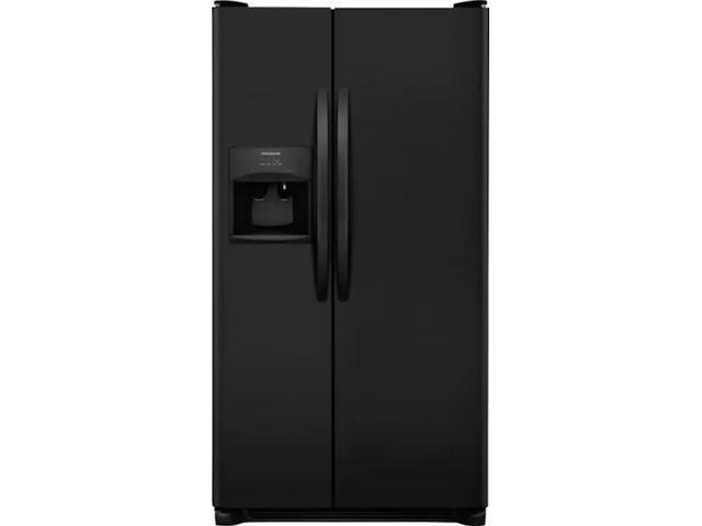 Frigidaire FRSS2623AB 25.5 Cu. Ft. Side-by-Side Refrigerator - Black photo