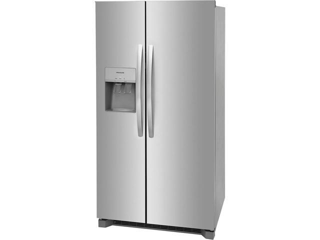 Frigidaire FRSS2623AS 36 Inch Side by Side Refrigerator with 25.6 Cu. Ft. Capacity - Stainless Steel photo