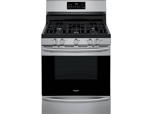 Frigidaire GCRG3060AF 30 inch Freestanding Gas Range with Air Fry - Stainless Steel photo