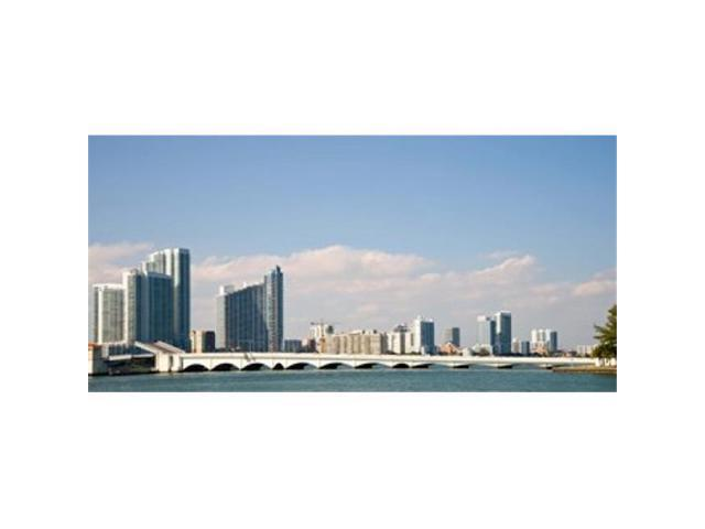 Panoramic Images PPI147111L Buildings at the waterfront Miami Florida USA Poster Print by Panoramic Images - 36 x 12 (Arts & Entertainment Arts & Crafts) photo