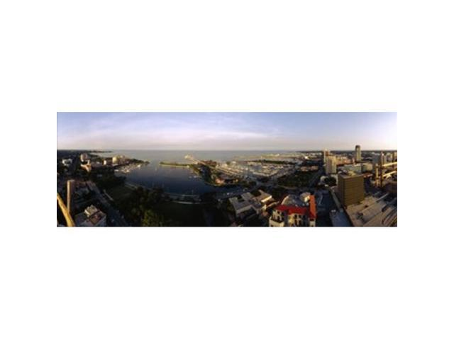 Panoramic Images PPI99508L High angle view of buildings at the waterfront Tampa Bay Florida USA Poster Print by Panoramic Images - 36 x 12 (Arts & Entertainment Arts & Crafts) photo