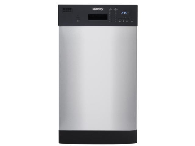 Danby DDW1804EBSS 18-Inch Built-In Kitchen Dishwasher, Stainless Steel Finish photo