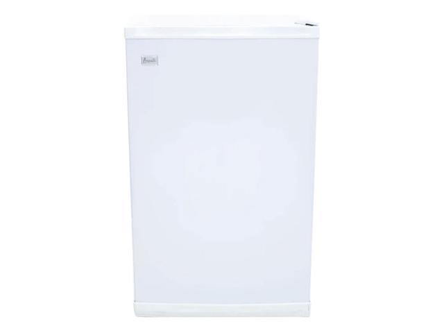 Avanti VF306-IS 2.8 Cubic Foot 3 Shelf 110 Volt Compact Vertical Freezer, White photo