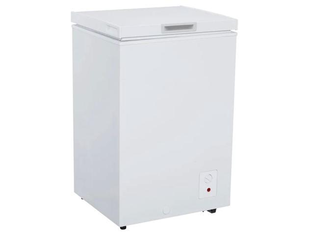 Avanti CF350M0W-IS 3.5 Cubic Foot Stand Alone Upright Chest Deep Freezer, White photo
