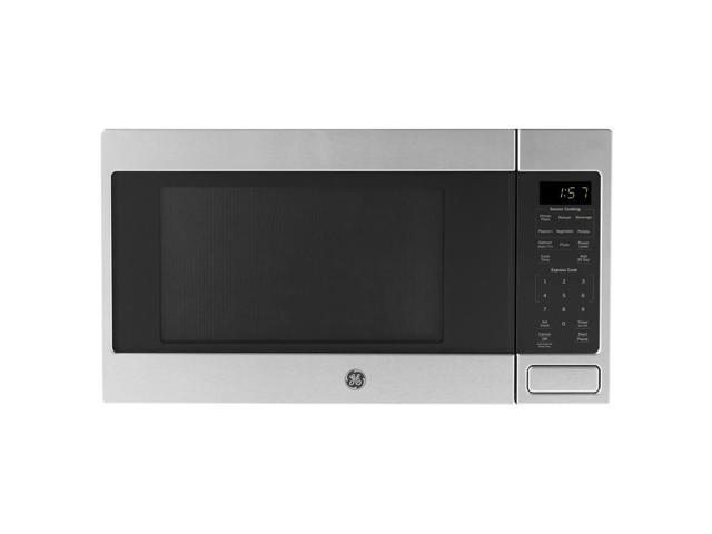 Recertified - GE 1150 Watt Countertop Microwave Oven, Stainless Steel photo
