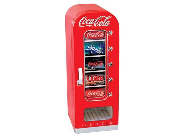 Koolatron CVF18 Retro Coca-Cola 10-Can-Capacity Vending Fridge photo