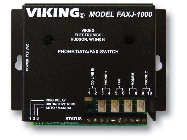 Viking Electronics FAXJ-1000 FaxJack Phone/Fax Switch photo