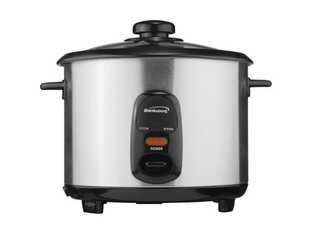 Brentwood Appliances 5 Cup Stainless Steel Rice Cooker TS-10 photo