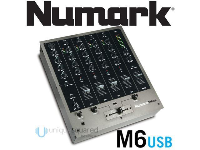 Numark M6 4 Channel USB DJ Mixer 12 inch DJ Mixer photo