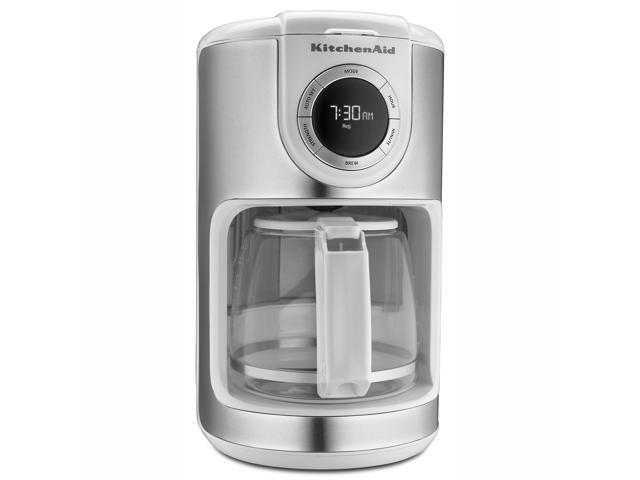 KitchenAid 12-Cup Coffee Maker - White photo