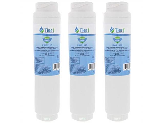 tier1 replacement for bosch 644845 replfltr10 ultraclarity, 644845, 9000194412, 740570, 9000077095, 9000193914 refrigerator water filter 3 pack photo