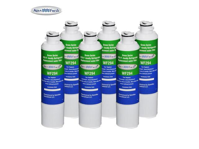 Samsung PURELINE PL-200 Refrigerator Water Filter Replacement by Aqua Fresh (6 Pack) photo