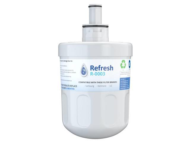 Replacement Water Filter Compatible with Samsung DA29-00003G Refrigerator Water Filter - by Refresh photo