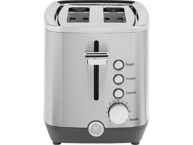 GE G9TMA2SSPSS 2-Slice Stainless Steel Toaster photo