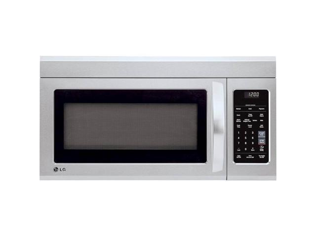 LG GLOMJB17S2AS 1.8 Cu. Ft. Over-the-Range Microwave - Stainless Steel photo