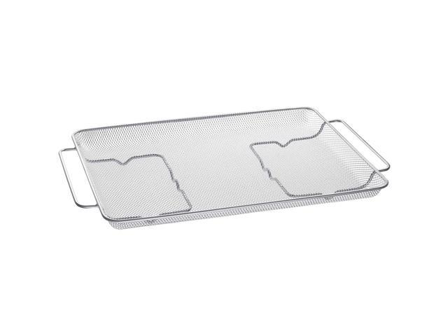 Samsung Stainless Air Fry Tray for 30 inch Ranges photo