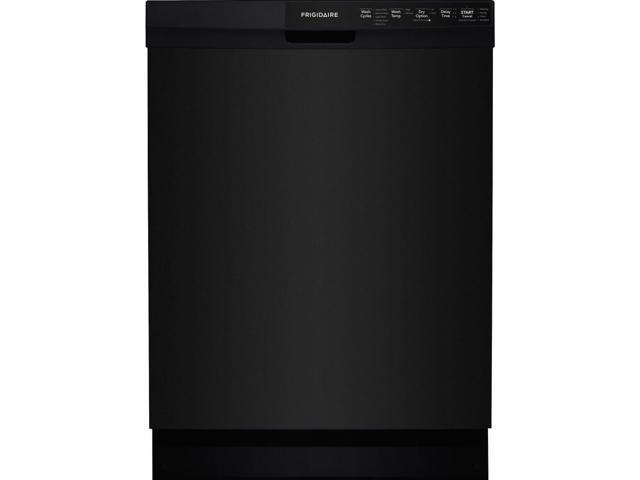 FRIGIDAIRE FFCD2418UB 24' Built-In Dishwasher w/ Hard Food Disposer, Black photo