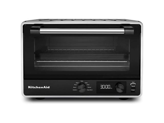 kitchenaid kco211bm digital countertop toaster oven, black matte photo