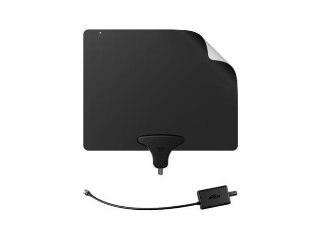 Mohu Leaf 50 Ultimate HDTV 50 Mile Range TV Antenna, Full HD 1080p Definition Amplified with Clean Peak Filter Technology (854449004101 Electronics Video Satellite & Cable Tv Satellite Receivers) photo