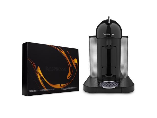 Nespresso GCA1-US-BK-NE VertuoLine Coffee and Espresso Maker (Black) Bundle photo