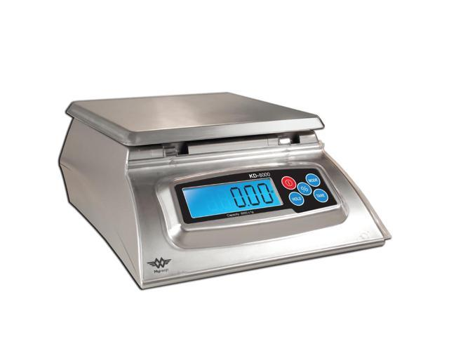 My Weigh KD-8000 Digital Food Scale (Stainless Steel, Silver) photo