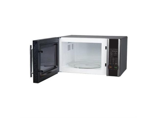 Magic Chef MCM1110ST 1000W 1.1 Cubic Foot Countertop Microwave Oven with Handle photo
