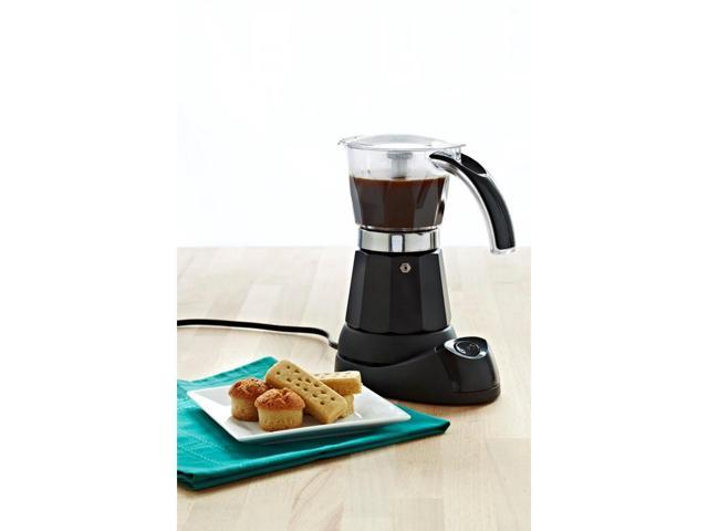 IMUSA B120-60006 Black 3-Cup/6-Cup Electric Coffee Maker photo