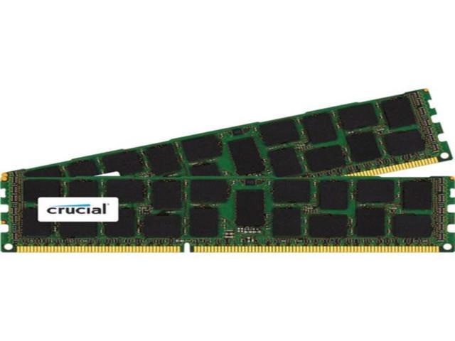 Crucial Technology CT2K16G3ERSDD4186D 32 GB (2 x 16 GB)240-Pin DIMM DDR3 SDRAM PC3-14900 Memory Module - CL13 - ECC (Electronics Computer Components) photo