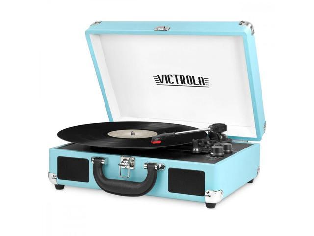 Innovative Technology INN-VSC-550BT-TRQ Bluetooth Suitcase Turntable in Turquois (225545066360 Electronics Audio Audio Components) photo