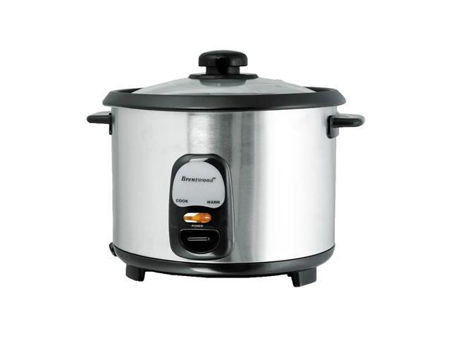 Brentwood Appliances TS-20 10-Cup Uncooked/20-Cup Cooked Rice Cooker, Stainless Steel photo