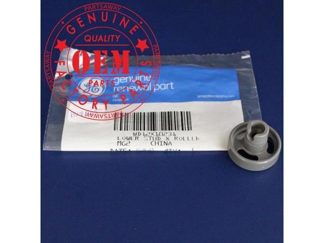 Ge Wheel, Dishwasher Lower Rack, Fits Brand GE, Hotpoint, Kenmore WD12X10231 photo