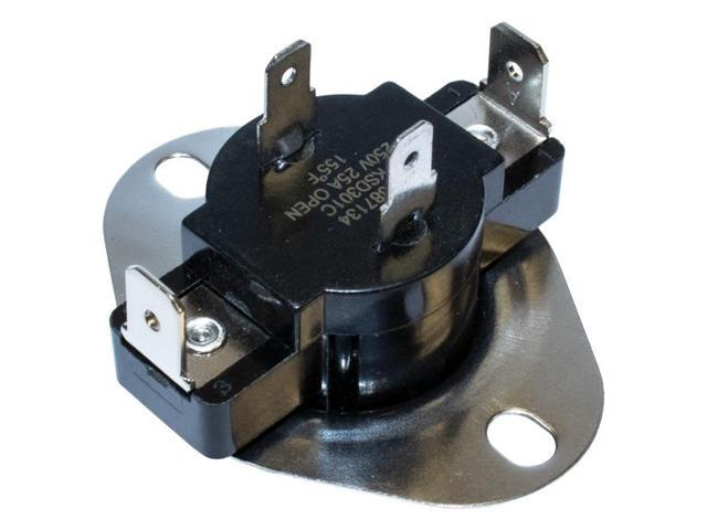 NAPCO ELE-N3387134 N3387134 Dryer Thermostat with Heat Anticipator for Whirlpool 3387134 photo