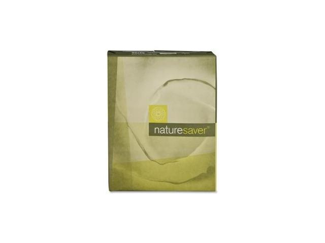 Nature Saver Recycled Paper 20 lb. GE 92 8-1/2'x11' 10 RM/CT White 42705 photo