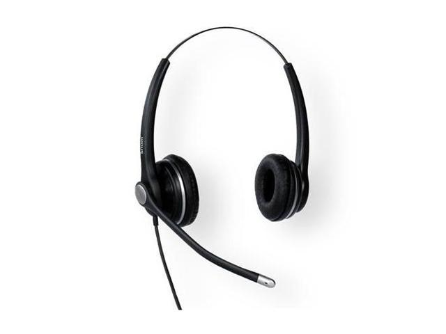 Snom Technology A100D Wired Binural Headset With Qd Rj9 (811819012135 Electronics Audio Audio Components) photo