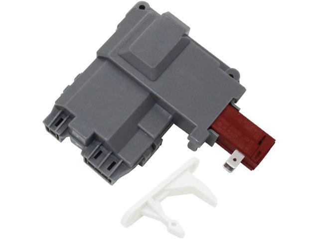 S-Union 131763202 Door Lock Switch with 131763310 Striker Replacement for Frigidaire & Gibson & Kenmore Washers (P/N: 1312694 1531974 131269400. photo