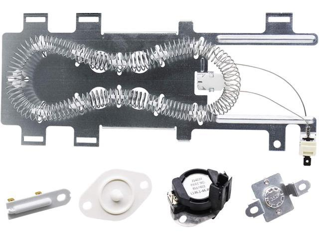 S-Union 280148 (8557403&8318314) Thermal Cut Off Kit, 8544771 Dryer Heating Element, 3392519 Dryer Thermal Fuse and 8577274 Dryer Temperature. photo
