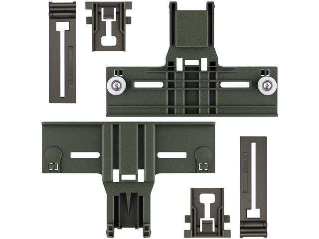 Upgraded Polymer Material W10350376 Dishwasher Top Rack Adjuster & W10195839 & W10195840 Dishwasher Part Compatible with Kitchenaid, Whirlpool. photo