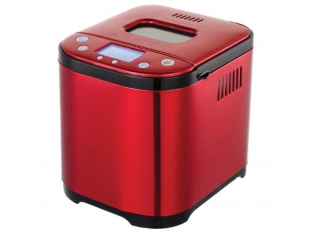 Frigidaire EBRM100-SSRED 2-Pound 710-Watt Electric Stainless Steel Bread Maker (Red) photo