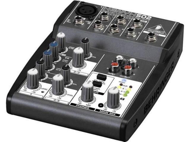 Behringer XENYX502 Premium 5-Input 2-Bus Mixer photo