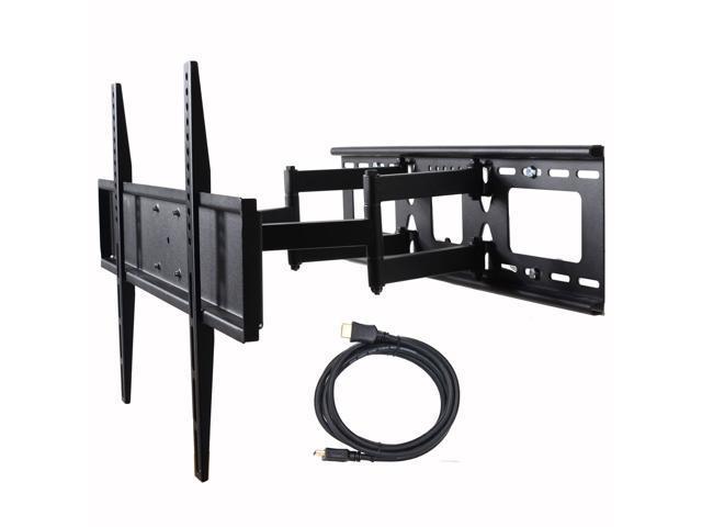 VideoSecu Dual Arm TV Wall Mount for Samsung 32-60' LED LCD HDTV UHD Plasma Flat Panel Screens, Tilt Swivel TV Mount with VESA 600x400mm. photo