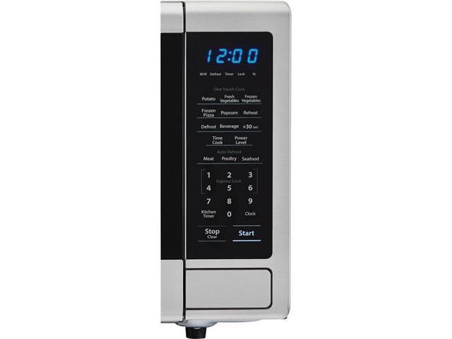 Sharp ZSMC1132CS Carousel 1.1 cu. ft. 1000W Countertop Microwave Oven, Stainless Steel photo