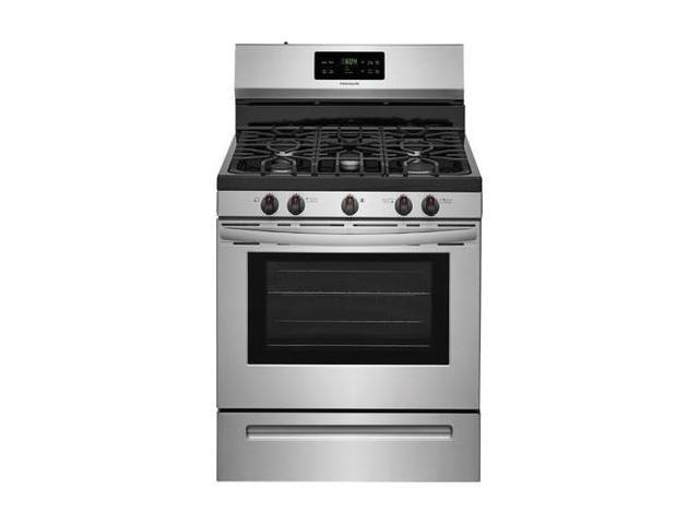 Frigidaire FFGF3054TS 30' Gas Range with 5 Burners 5 cu. ft. Oven Capacity One-Touch Self Clean Quick Boil Electronic Kitchen Timer Sealed Gas. photo