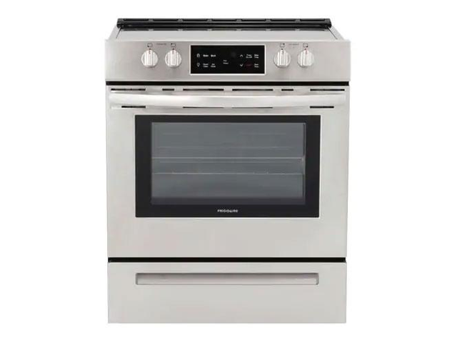 Frigidaire FFEH3051VS 30 Inch Freestanding Electric Range with 4 Elements, Smoothtop Cooktop, 5 cu. ft. Total Oven Capacity, Self-Cleaning Mode. photo
