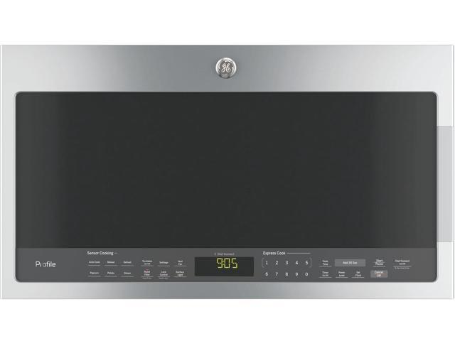 GE Profile PVM9005SJSS 30' Over-the-Range Microwave with 2.1 cu. ft. Capacity 1050 W Power Three Speed 400-CFM Venting Chef Connect Bottom. photo