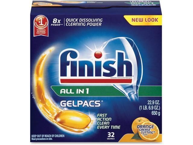 Finish Dishwasher Gel Packs photo