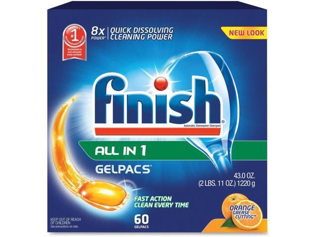 Finish Gelpac Dishwasher Detergent photo