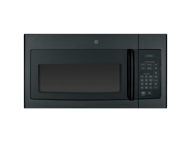 GE JVM3160DFBB 1.6 Cu. Ft. 1000W Black Over-the-Range Microwave photo