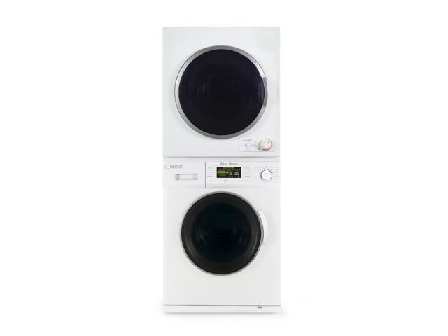 Equator Stackable Washer Dryer Set EW 824 + ED 850 V, 2019 Model photo